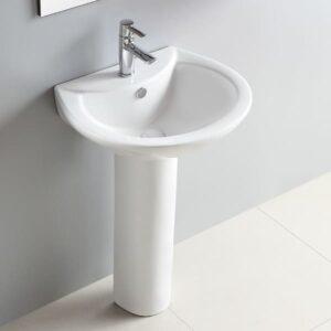 Débouchage d'un lavabo classique