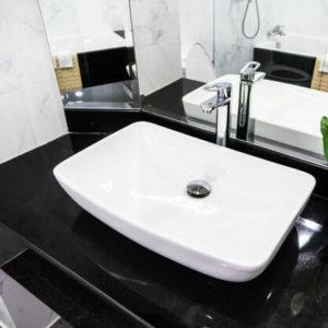 installation de lavabo