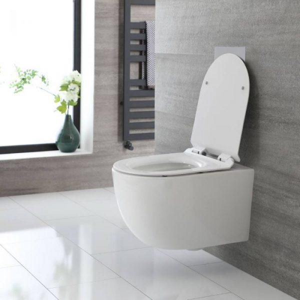 Recherche et réparation de fuite sur WC suspendu